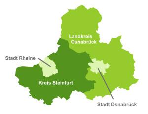 Grafik Osnabrück-Steinfurt-Rheine