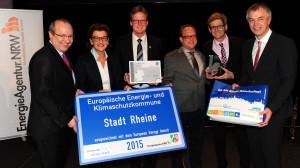 Preisverleihung European Energy Award