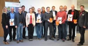Gruppenbild Verleihung_Energieland-Sportverein